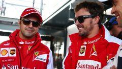 GP Australia 2013, Melbourne: Felipe Massa e Fernando Alonso (Ferrari)
