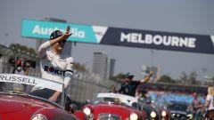 GP Australia 2019 - George Russell al primo giro d'onore della sua carriera