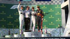 GP Australia 2019 - Hamilton, Bottas e Verstappen sul podio