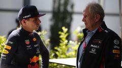 GP Australia 2019, Helmut Marko parla con Max Verstappen