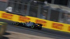GP Australia 2019 - Il vincitore Valtteri Bottas in azione con la sua Mercedes