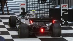 GP Australia 2019 - La Mercedes di Valtteri Bottas parcheggiata sotto al podio