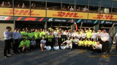 GP Australia 2019, la Mercedes festeggia la doppietta Bottas-Hamilton a Melbourne
