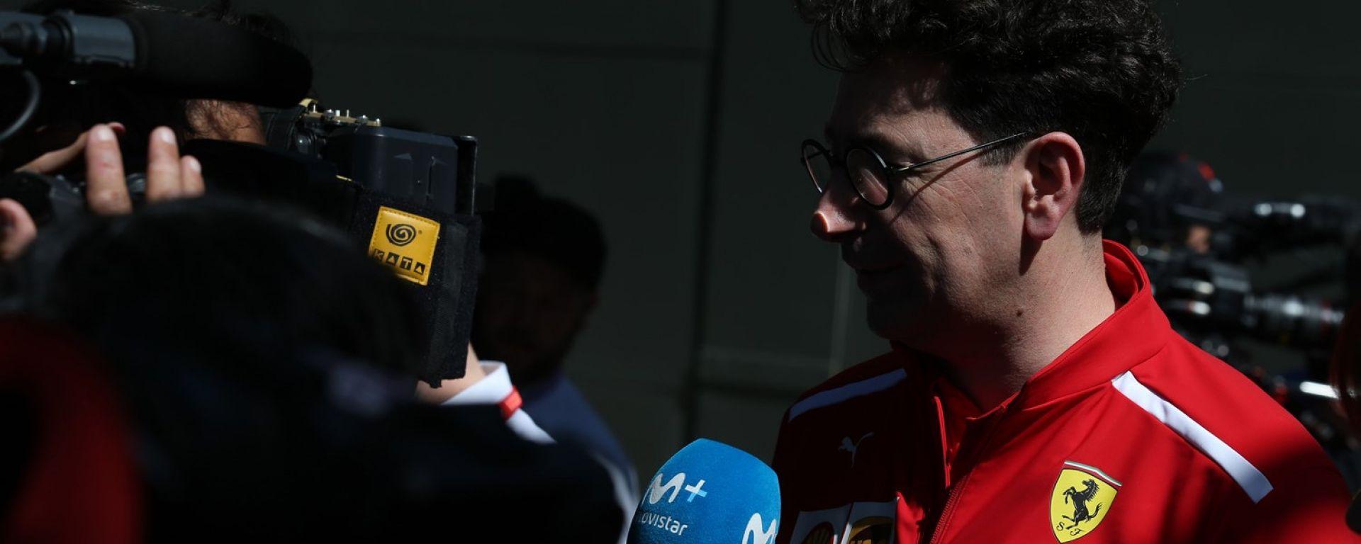 GP Australia 2019, Mattia Binotto (Ferrari)
