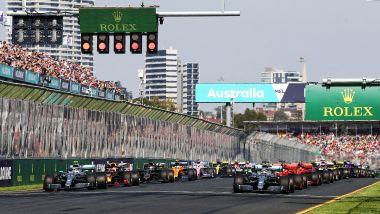 GP Australia 2019, Melbourne: partenza della gara
