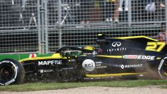 GP Australia 2019 - Nico Hulkenberg (Renault) sull'erba