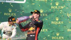 GP Australia 2019 - Verstappen festeggia sul podio