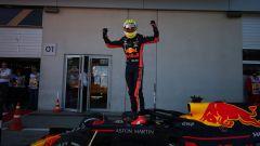 GP Austria 2019, Max Verstappen (Red Bull) festeggia la vittoria
