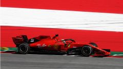 GP Austria 2019, Spielbeg, libere del venerdì: Sebastian Vettel (Ferrari)