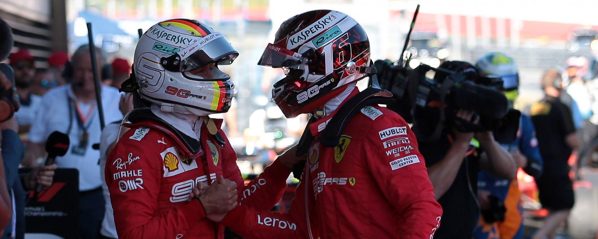 """GP Austria 2019, Vettel quarto: """"Avevamo una gran macchina oggi"""""""