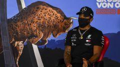 GP Austria 2020, Lewis Hamilton (Mercedes) in conferenza stampa