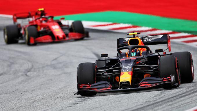 GP Austria 2020, Spielberg: Alex Albon (Red Bull)
