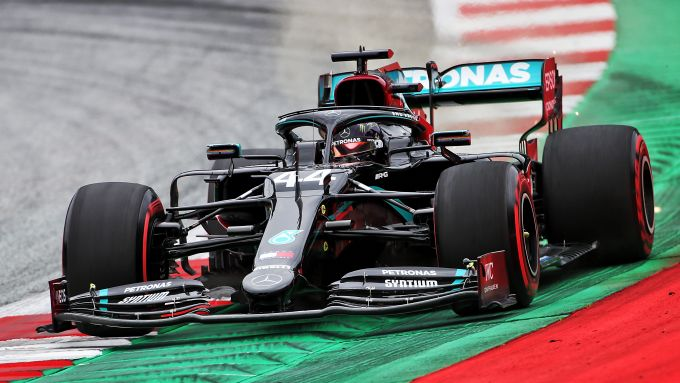 GP Austria 2020, Spielberg: Lewis Hamilton (Mercedes)