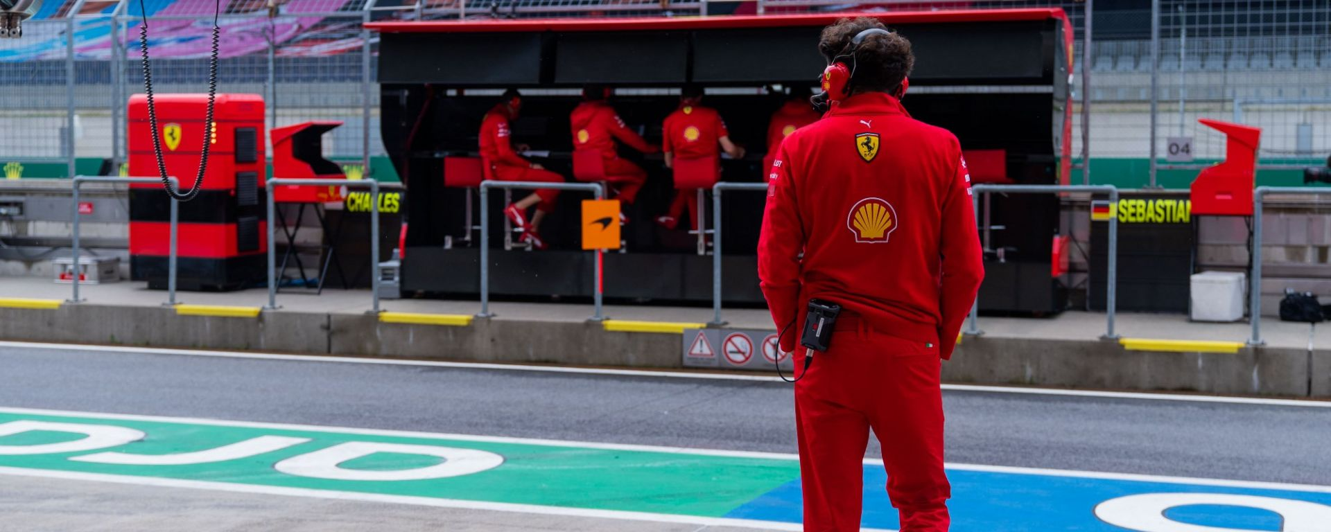 GP Austria 2020, Spielberg: Mattia Binotto (Ferrari)