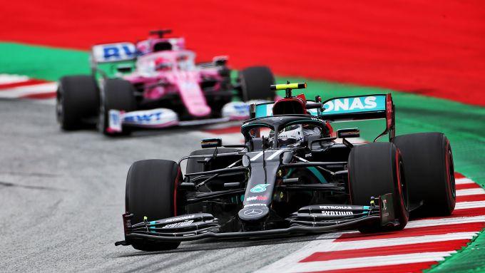 GP Austria 2020, Spielberg: Valtteri Bottas (Mercedes)