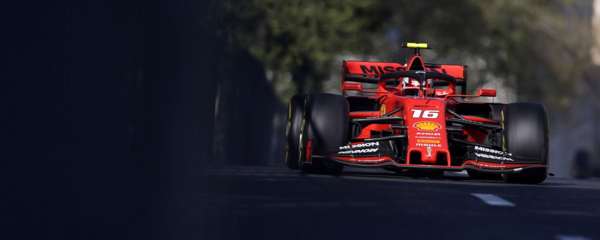 GP Azerbaijan 2019, Charles Leclerc (Ferrari)