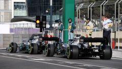 GP Azerbaijan 2019, Lewis Hamilton e Valtteri Bottas (Mercedes)