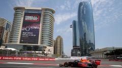 GP Azerbaijan 2019, Max Verstappen è quarto dopo le PL2