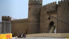 GP Azerbaijan 2019, Pierre Gasly in curva-11