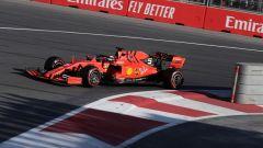 GP Azerbaijan 2019, qualifiche: Sebastian Vettel (Ferrari)