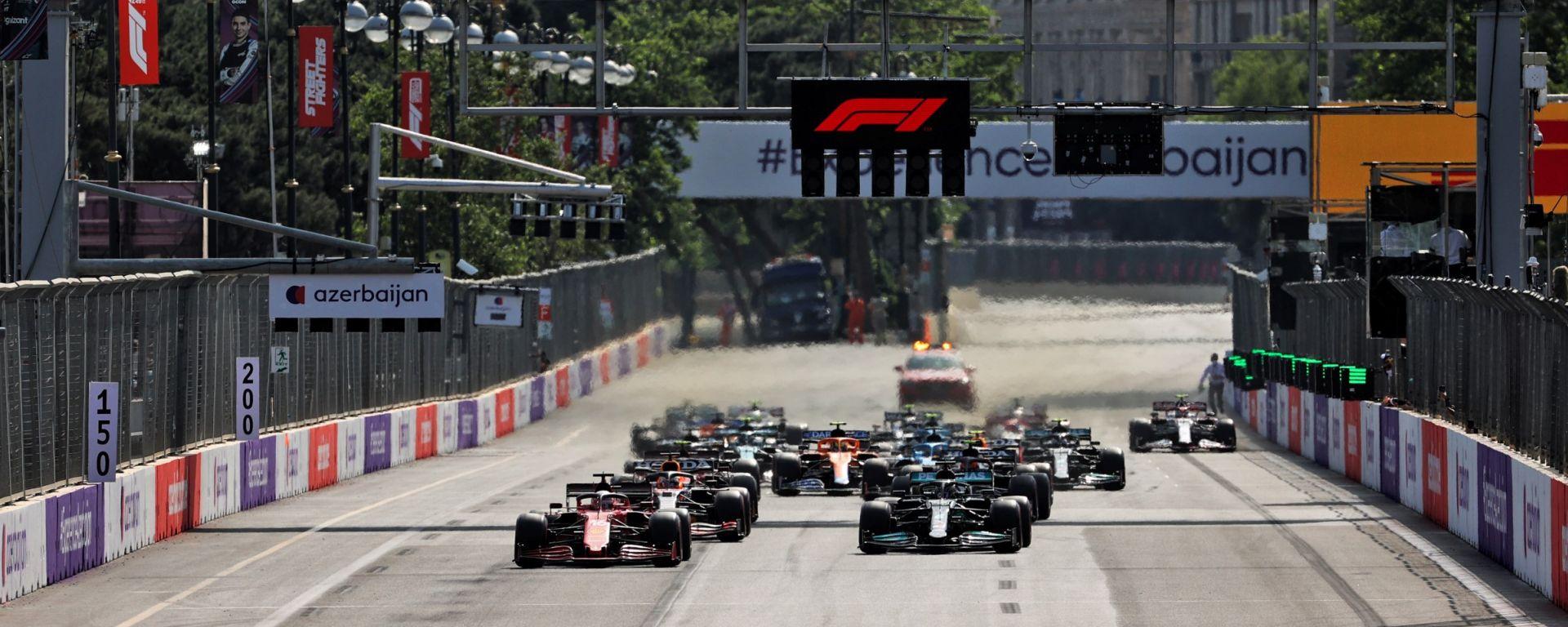 GP Azerbaijan 2021: ordine di arrivo e risultati