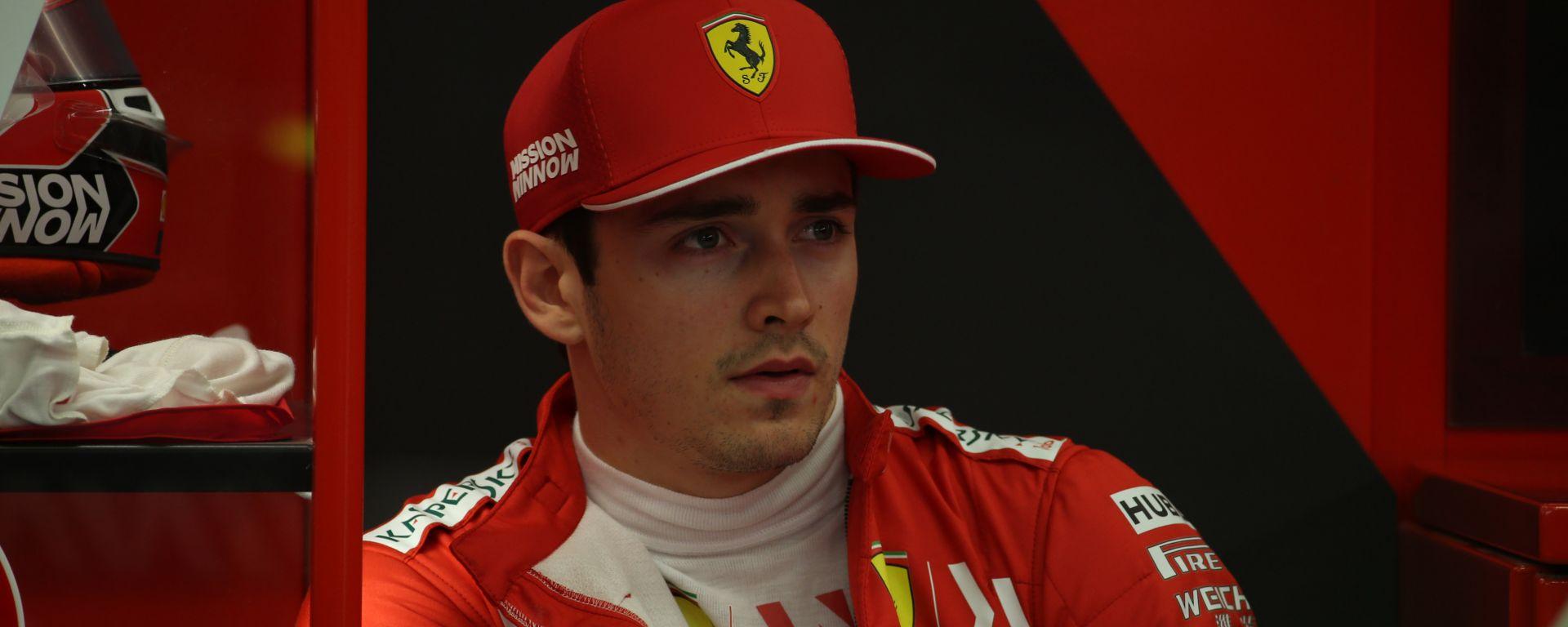 GP Bahrain 2019, Charles Leclerc (Ferrari)