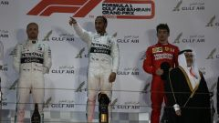 GP Bahrain 2019, Hamilton, Bottas e Leclerc
