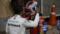 GP Bahrain 2019, Hamilton consola Leclerc dopo il traguardo