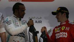GP Bahrain 2019, Hamilton e Leclerc sul podio
