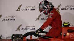GP Bahrain 2019, Leclerc scende sconsolato dalla sua monoposto