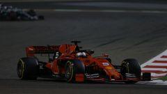 GP Bahrain 2019, Vettel nelle prime fasi di gara