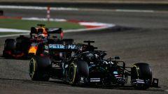GP Bahrain 2020, Sakhir: Lewis Hamilton (Mercedes), Max Verstappen (Red Bull)