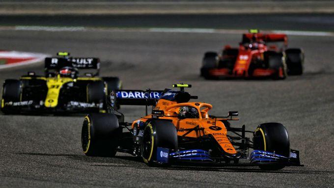 GP Bahrain 2020, Sakhir: Norris, Ocon e Leclerc