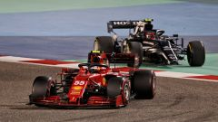 GP Bahrain 2021, Sainz (Ferrari) e Gasly (AlphaTauri)
