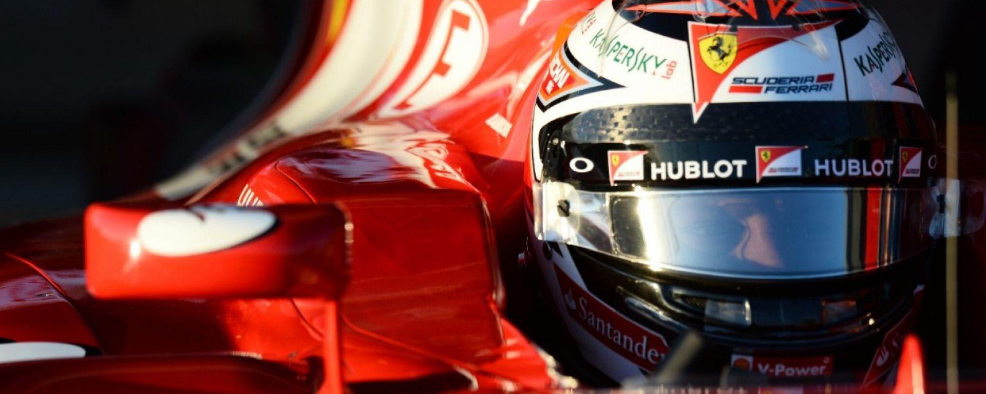 La Ferrari  presenta il circuito del Bahrain