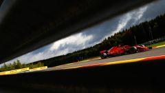 GP Belgio 2018, FP3, Kimi Raikkonen in azione con la sua Ferrari