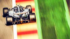 GP Belgio 2018, FP3, Lewis Hamilton in azione con la sua Mercedes