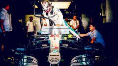 GP Belgio 2018, FP3, Lewis Hamilton sale sulla sua Mercedes