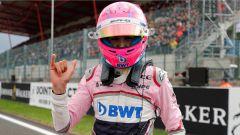 GP Belgio 2018, qualifiche, la gioia di un incredulo Esteban Ocon della Force India