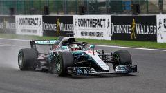 GP Belgio 2018, qualifiche, Lewis Hamilton strappa la pole con la sua Mercedes