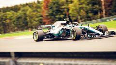 GP Belgio 2018, Spa-Francorchamps, Valtteri Bottas in azione con la sua Mercedes