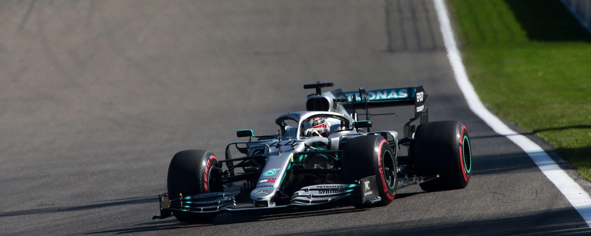 """GP Belgio 2019, Hamilton 3°: """"Pole irraggiungibile oggi"""""""