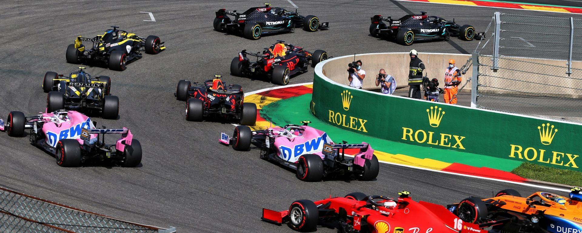 GP Belgio 2020, Spa Francorchamps: la partenza