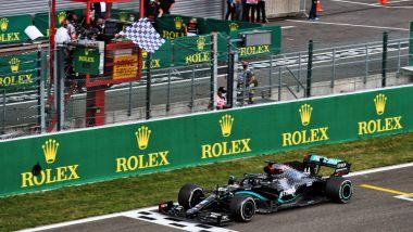GP Belgio 2020, Spa Francorchamps: Lewis Hamilton (Mercedes)