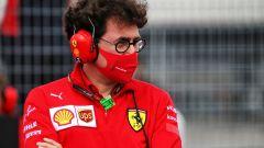 """Disastro Ferrari a Spa, Binotto: """"Qualcosa ci sfugge"""""""