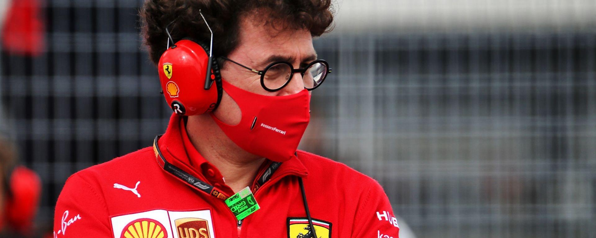 GP Belgio 2020, Spa Francorchamps: Mattia Binotto (Ferrari)