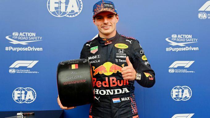 GP Belgio 2021: Max Verstappen (Red Bull)