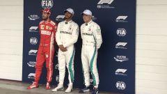 GP Brasile 2018, i protagonisti delle qualifiche: Sebastian Vettel, Lewis Hamilton e Valtteri Bottas