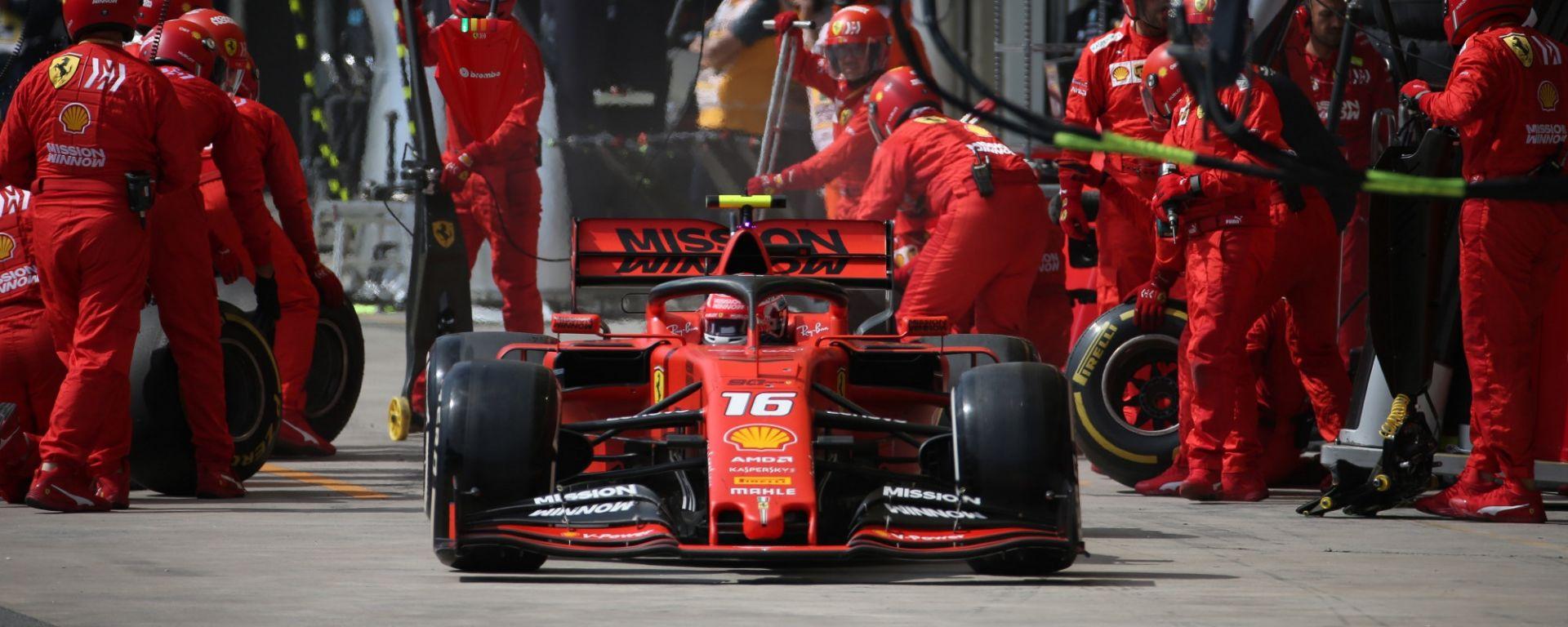 GP Brasile 2019, Interlagos: Charles Leclerc (Ferrari)