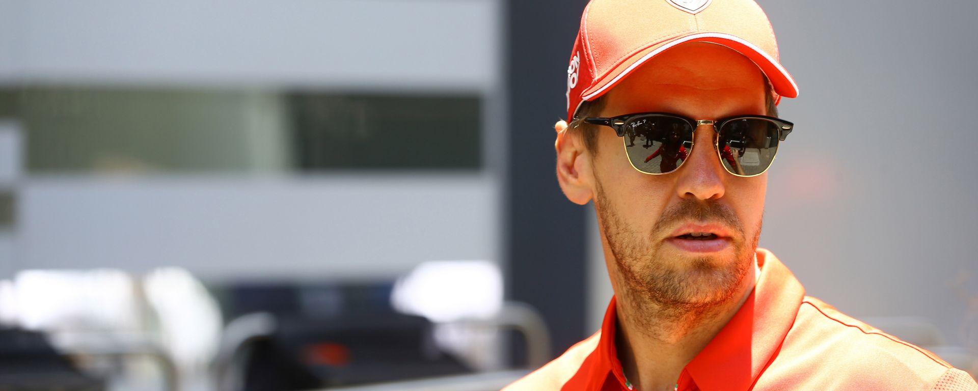 GP Brasile 2019, Interlagos: Sebastian Vettel (Ferrari)